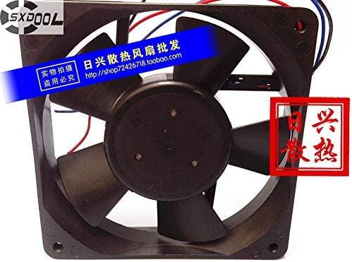 SXDOOL cooling fan 48V F1225E48B2 0.17A 12CM 12025 12012025mm industrial power supply cooler