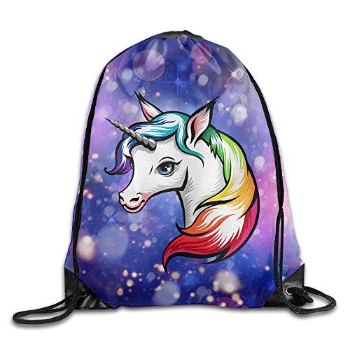 Agent Laptop Bag (Unisex Unicorn Horse Sports Drawstring Backpack Bag)