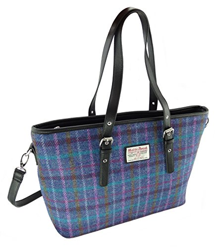 Large Colous Tweed Tote Harris LB1028 Col51 Spey Various Authentic In Ladies Bags fwqtT7t