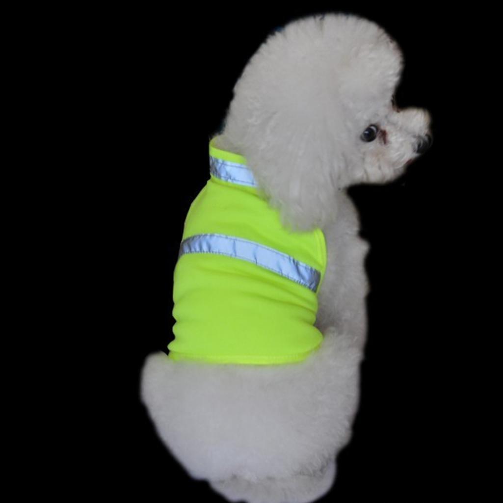 ALCYONEUS Gilet réfléchissant réglable pour animal domestique - Garde votre animal protégé lors de la chasse - Gilet haute visibilité