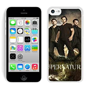 iPhone 5C Case ,Unique And Fashionable Designed Case With Supernatural 2 White For iPhone 5C Phone Case