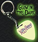 Printed Picks Company Katy Perry Glow In The Dark Premium Guitar Pick Keyring