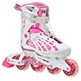Roller Derby Web Stinger Adjustable Girl's Inline Skates, Medium (2-5)
