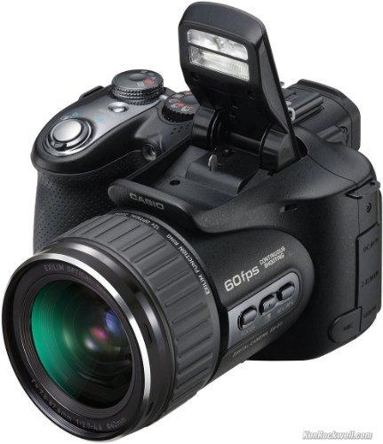 Casio Exilim EX-F1 6MP 12x Zoom 2.8-Inch LCD Pro Digital Camera with CMOS Shift Image Stabilization (Black)