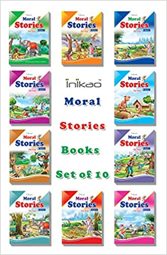 Buy Story Books Set Of 10 In English With 101 Moral Stories From