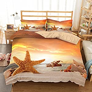 51LwMTZA2qL._SS300_ 50+ Starfish Bedding Sets and Starfish Quilt Sets