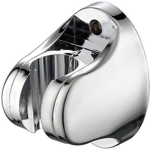 Shower Head Holder, Hand Held Shower Head Bidet Sprayer Holder Mount Bracket (Material:Plastic, Color: Chrome Polished) for Bathroom by Cagonlife