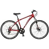 Schwinn GTX 2.0 700c Men's Dual 18 Sport Bike, 18-Inch/Medium, Red