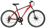 Image of Schwinn GTX 2.0 700c Men's Dual 18 Sport Bike, 18-Inch/Medium, Red