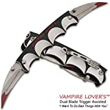 Cheap Vampire Lover's Trigger Assisted Dual Knife