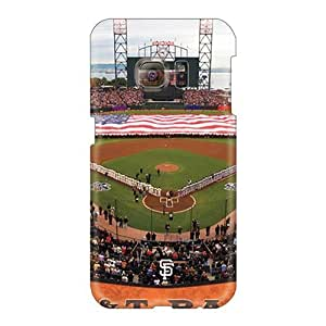 Shock-Absorbing Hard Phone Cover For Samsung Galaxy S6 (VSO25492jMGU) Provide Private Custom Trendy San Francisco Giants Skin