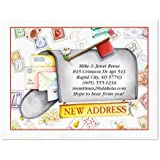 """Keep in Touch New Address Postcards - Set of 24 5-1/4"""" x 4"""" post cards"""