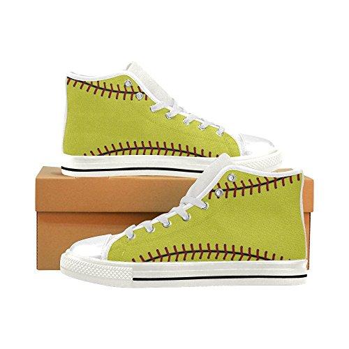 D-story Custom Baseball Para Hombre Classic High Top Canvas Zapatos Moda Sneaker