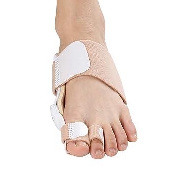 Desconocido Corrector de juanetes Ortopedia del pie Pulgar del Dedo Gordo Pulgar Cinturón de corrección Hueso del pie Alineamiento del pie del pie Día y ...