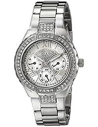 Guess Women's U0111L1 Silver Stainless-Steel Quartz Watch