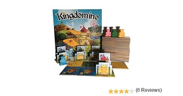 Asmodée - Kingdomino XL - Giant Version - 3770000904666: Amazon.es: Juguetes y juegos