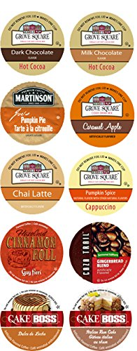 10 Cup Fantastic FALL FLAVORS Limited Edition Single Serve Cups -Cozy Fall Favorites!