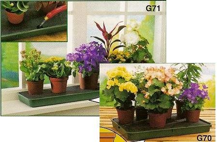 GARLAND SELF WATERING WINDOWSILL PLANT TRAY: Amazon.co.uk: Garden U0026 Outdoors