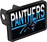 Carolina Panthers Color Duo Tone Universal HITCH Bumper Trailer Auto Cap Cover Football