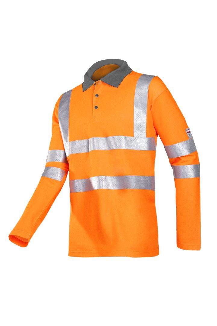 SIOEN 319AA2MR1FC1M Candiz - Polo igní fugo (talla M), color naranja