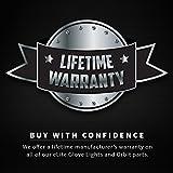 Emazing Lights eLite Chroma CTRL LED Gloves, 5 Light Flashing Modes - #1 Leader in Gloving & Lights Shows