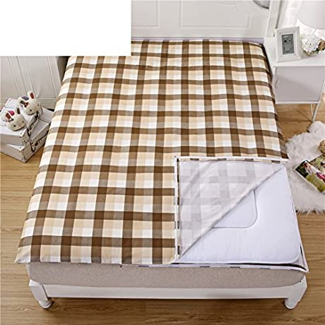 Cotton Quilt Cover Luxurious Soft Comfortable Zip Light Breathable Durable Prevent Allergy B 135x190cm 53x75inch