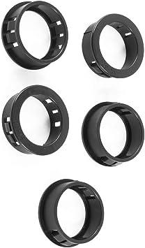 Aexit 5 Piezas 30 mm Montaje del arnés de cables Protector de ...