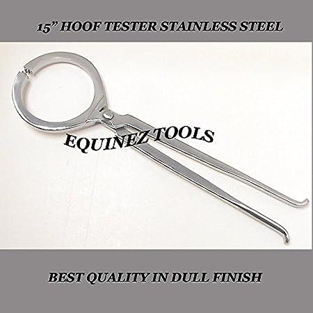 "Hoof Tester 19/"" Farrier Horse Equine Veterinary Tool Stainless Steel Heavy Duty"