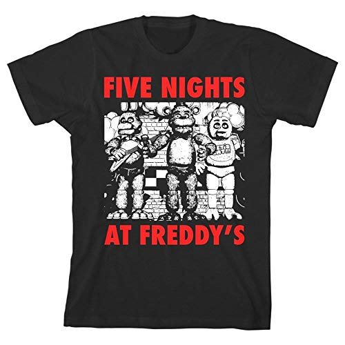 Youth: Five Nights at Freddys- Character Kids T-Shirt Size ()