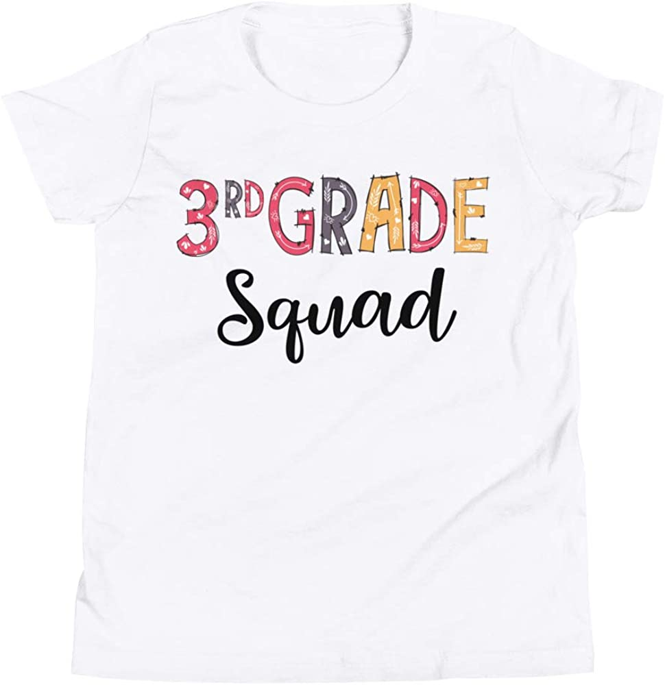 Little Shark 3rd Grade Squad T-Shirt Funny Third Grade Tee Shirt Back to School Tees Gift