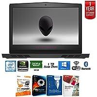 Dell Alienware AW17R4-7345SLV 17-Inch 7th Gen Intel Core i7 16GB 1TB Laptop - Silver + Elite Suite 17 Standard Software Bundle (Corel WordPerfect, PC Mover, PDF Fusion, X9) + 1 Year Extended Warranty