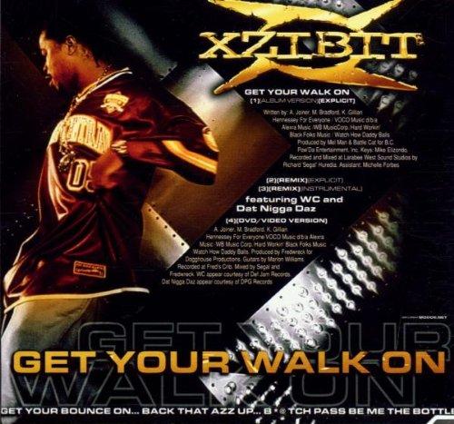 amazon get your walk on xzibit ウェストコースト 音楽