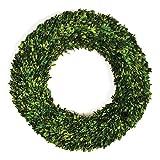 Preserved Boxwood Wreath, 30-Inch