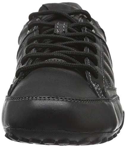 Geox Uomo Snake B, Zapatillas para Hombre Schwarz (BLACKC9999)
