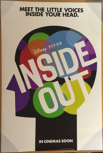 Inside Out Movie Poster 2 Sided Original Advance Intl Diane Lane Amy Poehler
