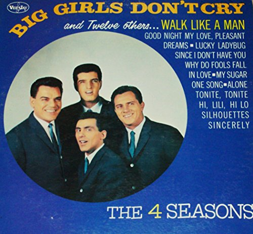 THE 4 SEASONS Big Girls Don't Cry LP original US pressing VEE-JAY LP1056 mono 1962
