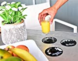 Our Casa Vinyl Record Coasters for Drinks | Home