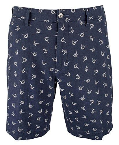 (Polo Ralph Lauren Men's Linen-Blend Classic Fit Shorts-SS-38)