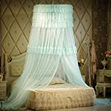 Deluxe european bed nets/princess wind bed nets/minimalist fashion high-end mosquito nets-C 180x220cm(71x87inch)