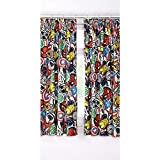 Marvel Avengers Childrens Bedroom 54 Inch Curtains Perfect For Any Bedroom New