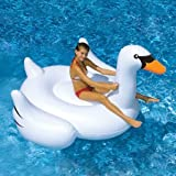 Swimline Giant Inflatable Ride-On 75-Inch Swan Float For - Best Reviews Guide