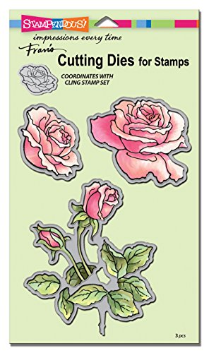 Die Set Garden - STAMPENDOUS Rose Garden Die Cut Set