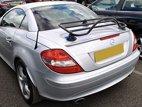 Mercedes SLK R171 (04-11) Trunk Rack Unique Design, No Clamps No Straps No Brackets No Paint Damage