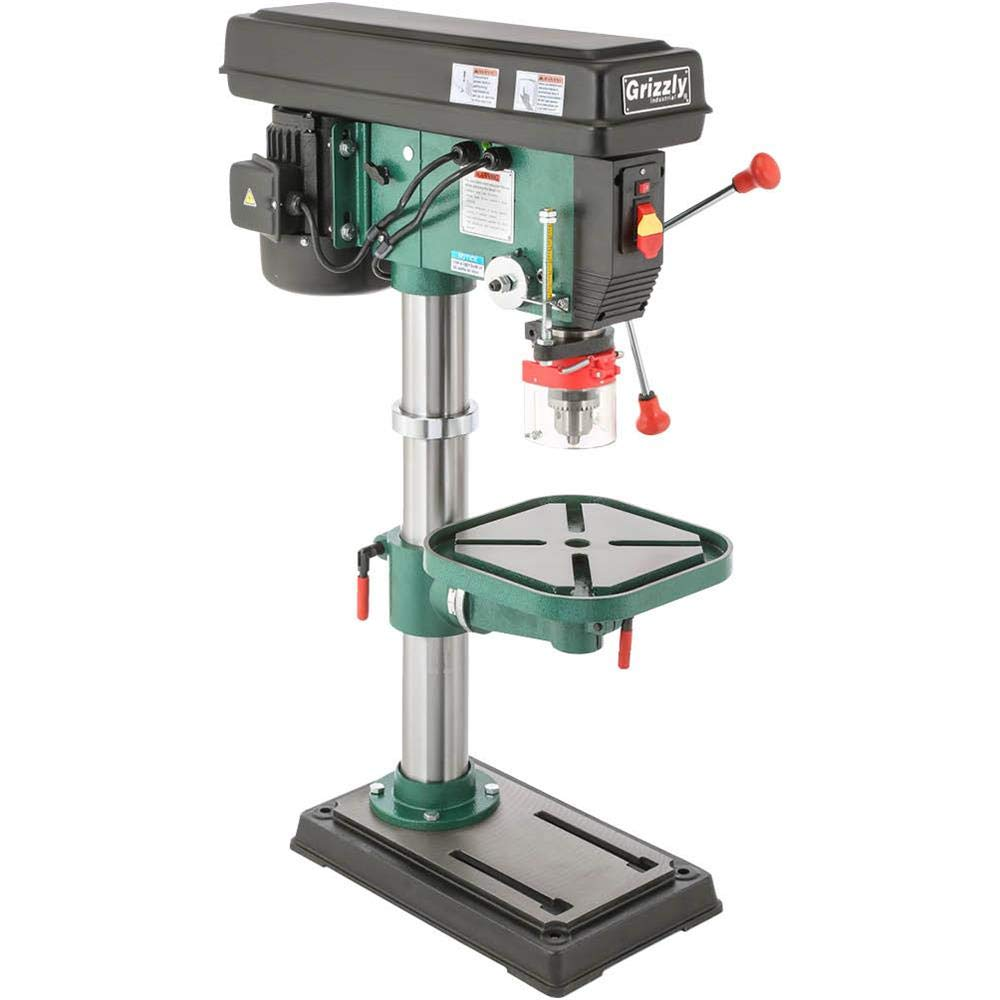 Grizzly G7943 12 Speed Heavy-Duty Bench-Top Drill Press - Grizzly Drill  Press - Amazon.com