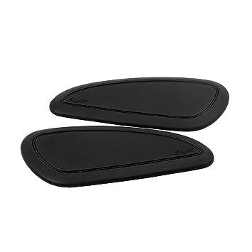 latest utterly stylish buy popular Motone Fuel/Gas/Petrol Tank Custom Knee Pads - Black Pinstripe ...