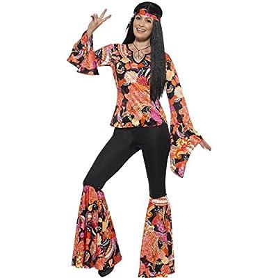 Ladies 60's Willow The Hippie Fancy Dress Costume