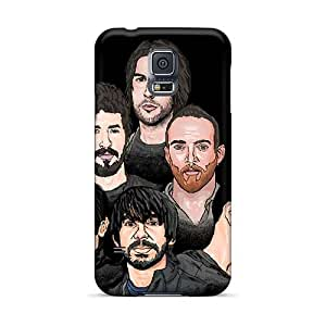 MarieFrancePitre Samsung Galaxy S5 Shock-Absorbing Cell-phone Hard Cover Support Personal Customs Attractive Linkin Park Band Series [aVM1395gbvO]