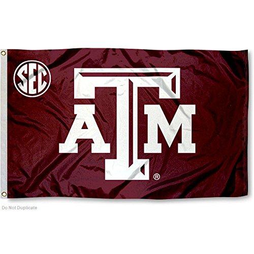 Texas A&M Aggies SEC Flag