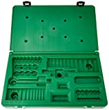 SK Hand Tool ABOX-91844 Blow-molded replacement case for 91844 1/4' Drive Socket Set, Green
