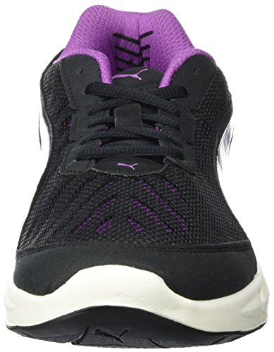 Puma Damen Ignite Ultimate Wns Laufschuhe Schwarz (black-purple cactus flower 02)